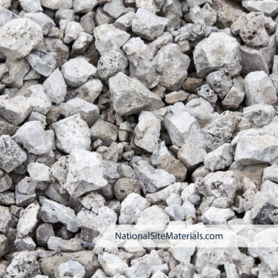 Crushed Recycled Concrete - Aggregate Materials from National Site Materials 888-237-2746