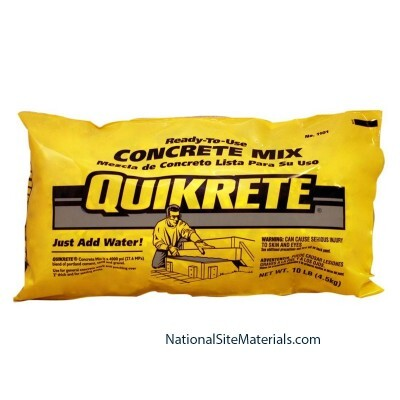 Concrete Mix 10 pound bag from National Site Materials (888) 237-2746