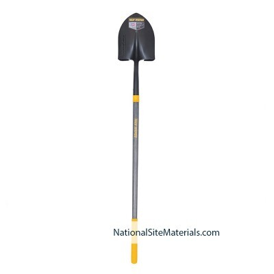 Round Point Digging Shovel from National Site Materials (888) 237-2746